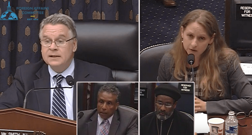 House Subcommittee Hearing: Human Rights or Change in Policy Course?