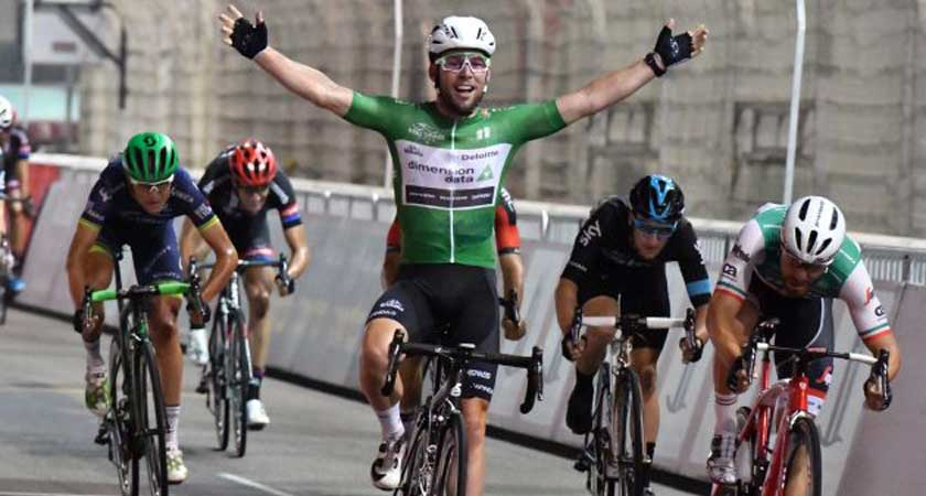 Abu Dhabi Tour: Perfect Stage #4 Leadout Delivers Cavendish to Victory