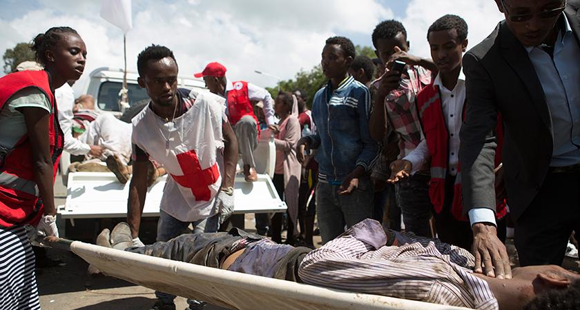 oromo protesters killed