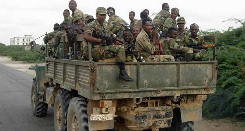 Ethiopia Troop withdrawal