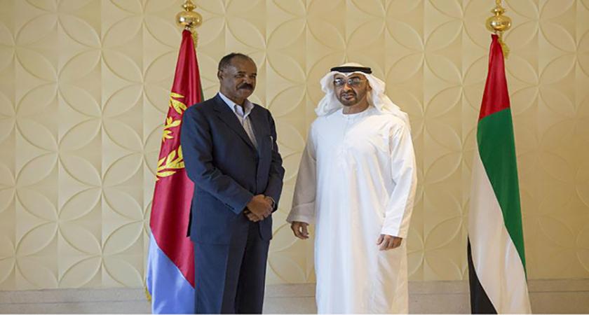 isaias with Crown Prince of Abu Dhabi