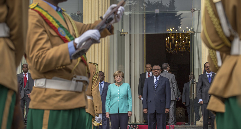 German Chancellor Merkel Backs Oppressive Ethiopian Regime