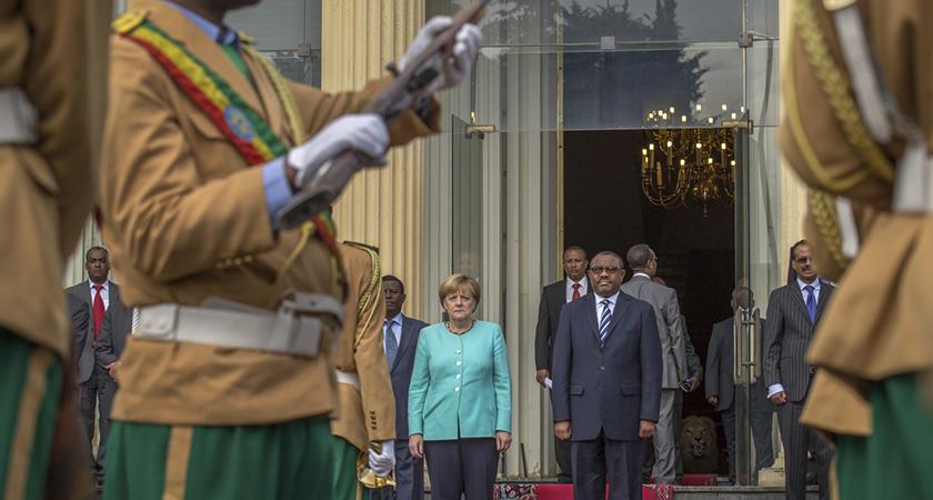 German Chancellor Merkel Backs Oppressive Ethiopian Regime