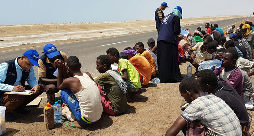 Migration / Refugee Crisis from Ethiopia Unfolding in Djibouti and Yemen: IOM