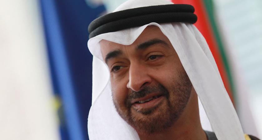 Crown Prince of Abu Dhabi Receives President of Eritrea