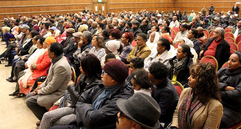 Hundreds of Eritreans Attend Public Seminar in London UK