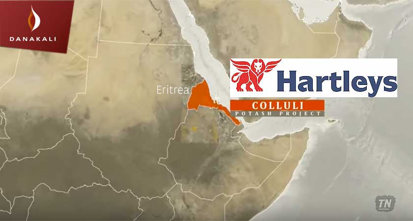 Hartleys Issue Research Update on Danakali after Eritrea Potash Site Visit