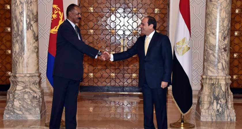 Eritrea and Egypt Presidents Agree on Activating Joint Committee