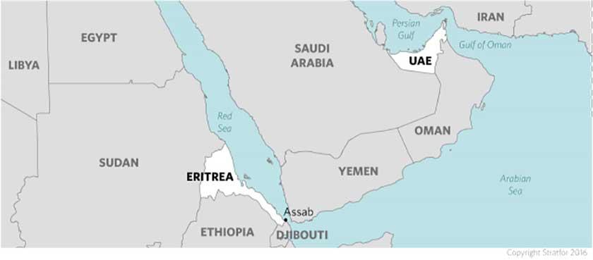 uae-eritrea-map