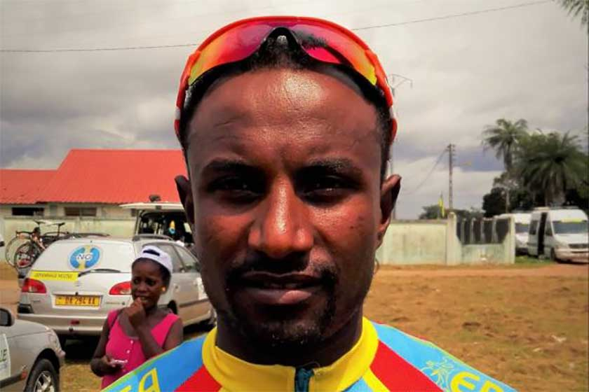 Tesfom Okbamariam Best Cyclist of the Year
