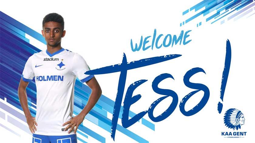 Tesfaldet 'Tess' Tekie signed KAA Gent