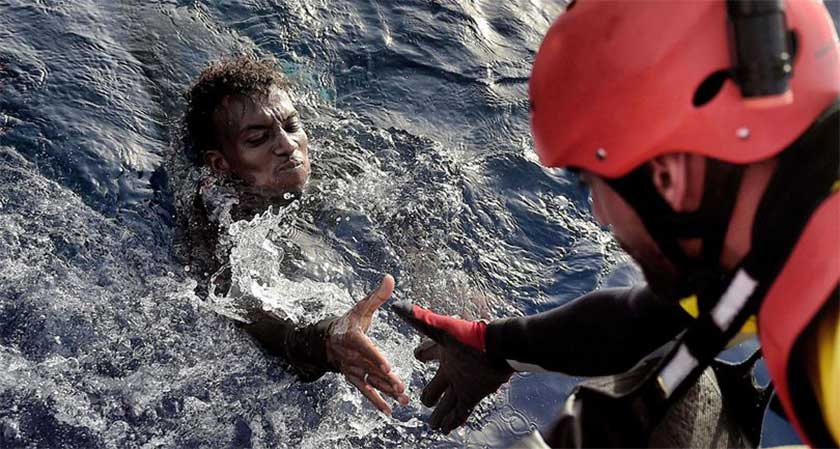 four migrants rescued off Libyan coast