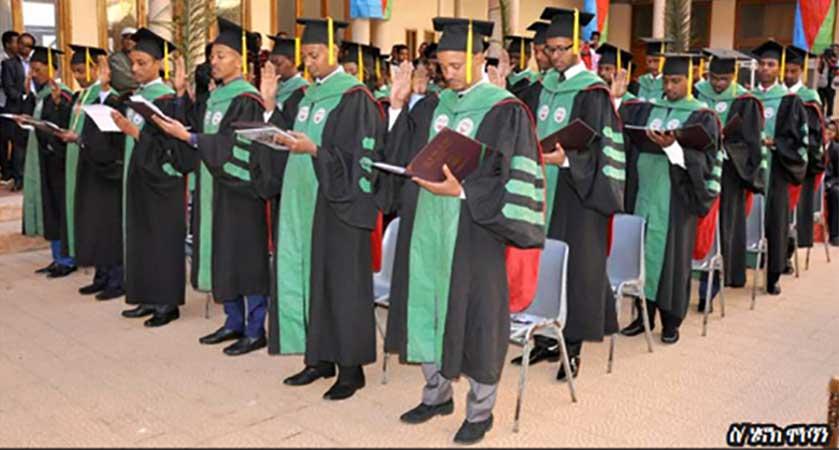 Orotta School of Medicine graduation