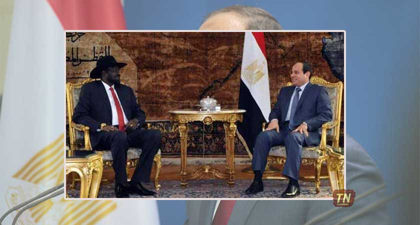 President Salva Kiir on State Visit to Egypt