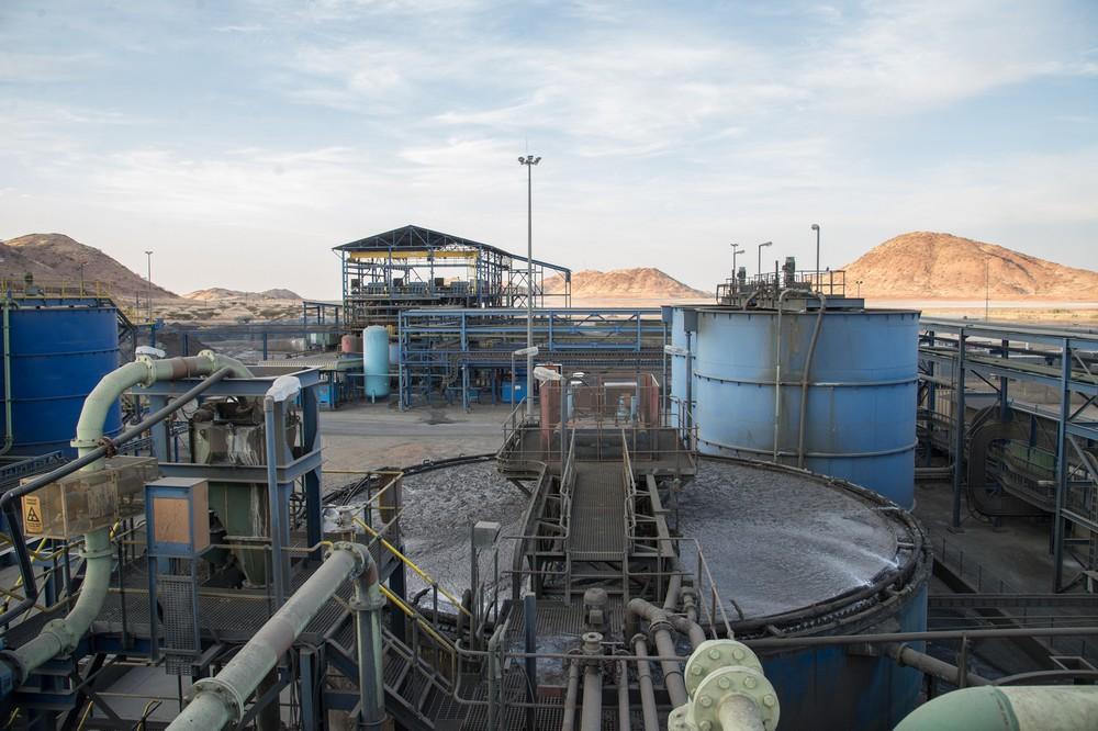 Bisha processing plant