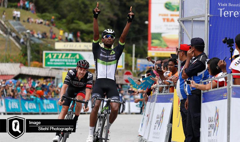 Mekseb Debesay claimed wins Tour de Langkawi stage 4