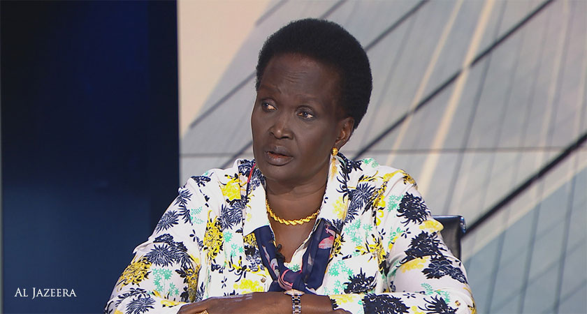 Rebecca Garang Calls for President Kiir to Resign