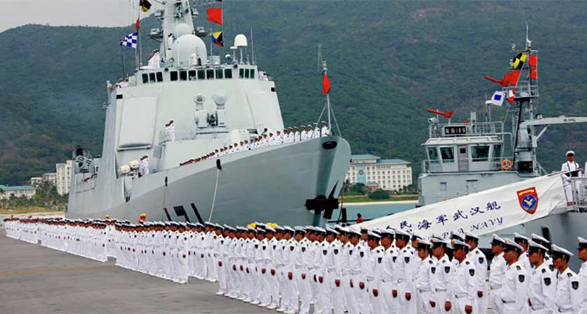 Chinese Naval Base in Djibouti Nears Completion
