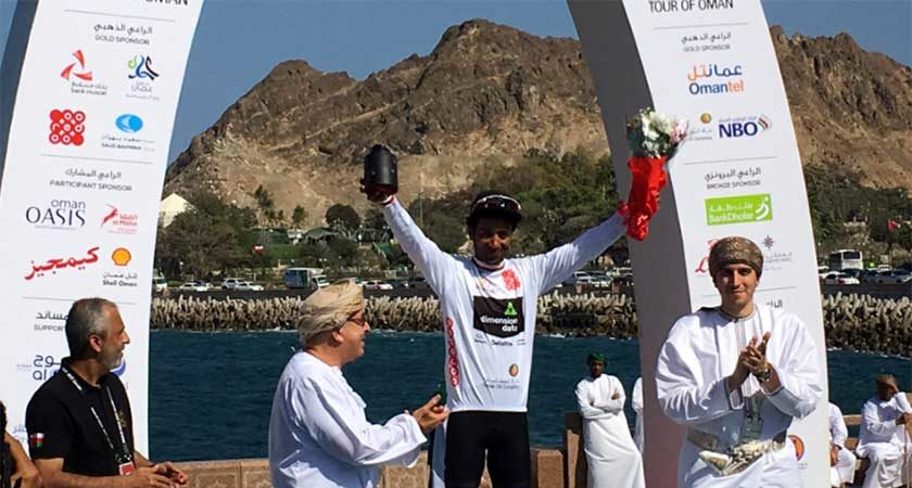 Tour of Oman: Merhawi Kudus Wins White Jersey