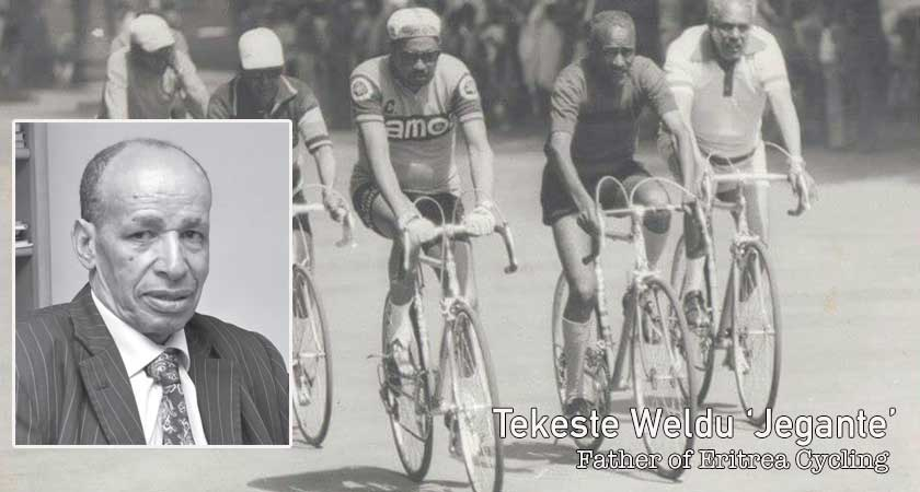 Eritrean Cycling legend, Tekeste Weldu 'Jegante'