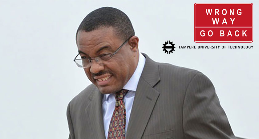 Tampere University of Technology of Finland withdrew PM Hailemariam Honorary Degree