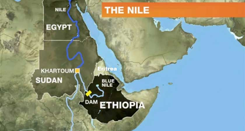 Eritrea rejected Ethiopia's accusation of an alleged plot to attack the controversial Renaissance Dam.