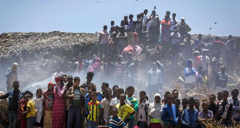 Addis Ababa garbage landfil