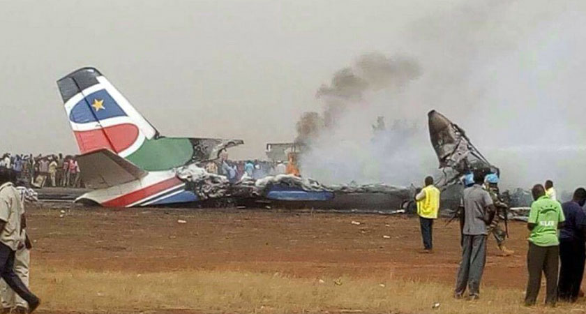 South Sudan Plane Crash: All on Board Survive