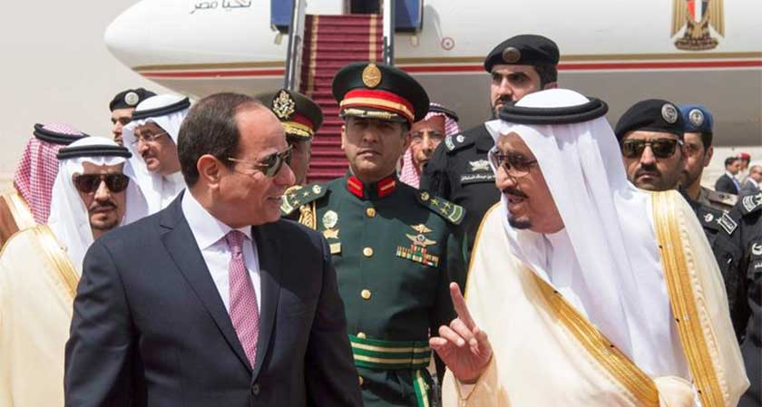 President Abdel Fattah Al-Sisi  visits Saudi Arabia