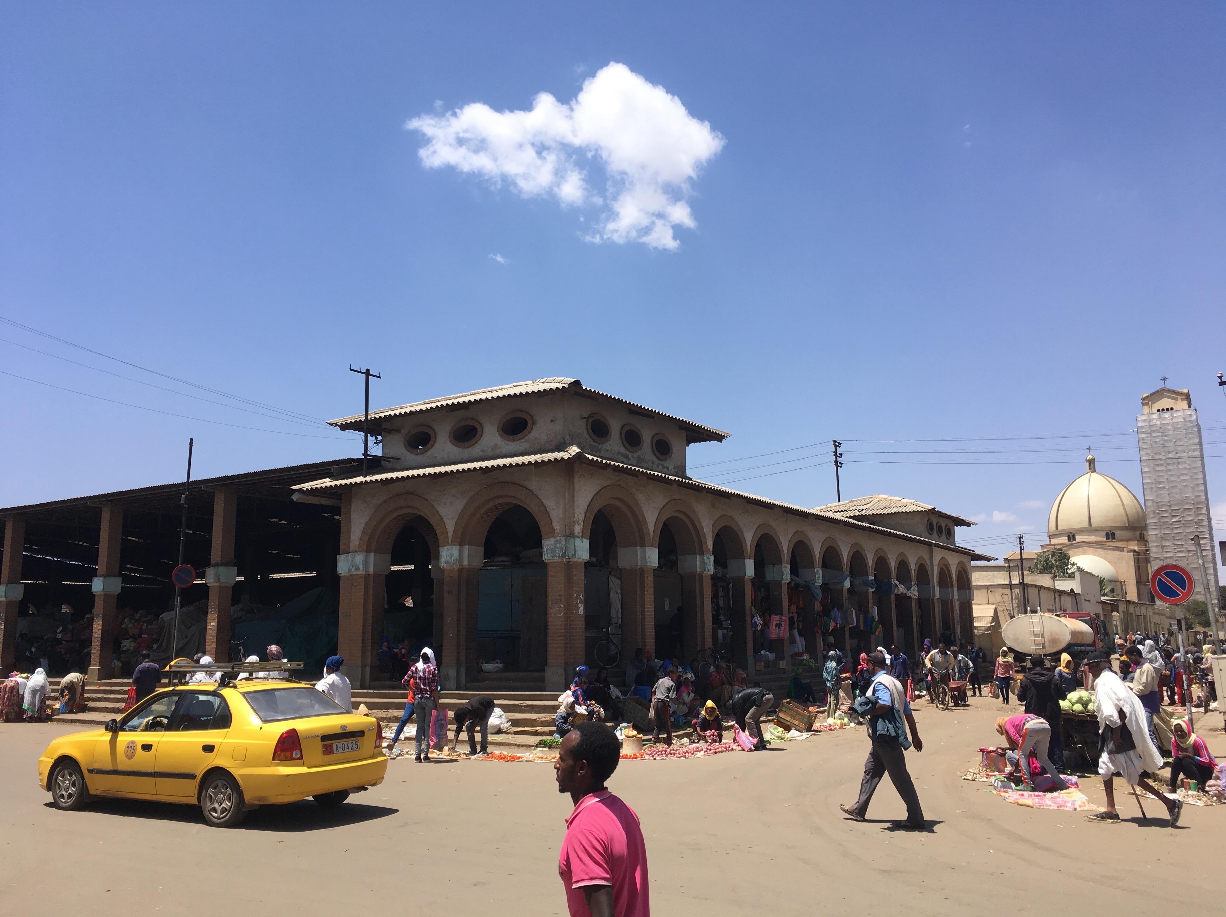 Market place in Asmara.