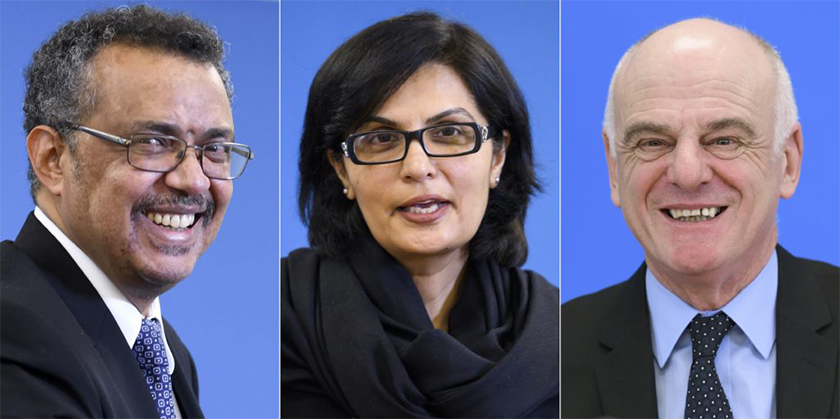 Who will be the next Director General of the World Health Organization?