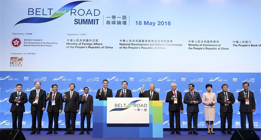 The Silk Road Economic Belt and the 21st-century Maritime Silk, also known as the Belt and Road Initiative