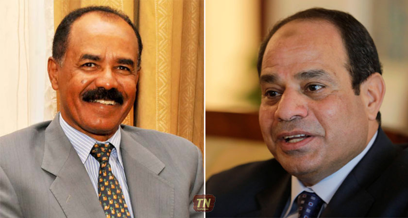 Our ties with Egypt are growing at a fast pace in various sectors and field.' President Isaias Afwerki