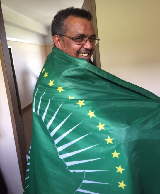 Tedros Adhanom the first African to lead WHO