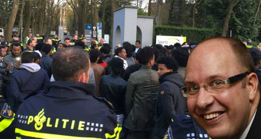 Mayor of Veldhoven in the Netherlands racism against YPFDJ