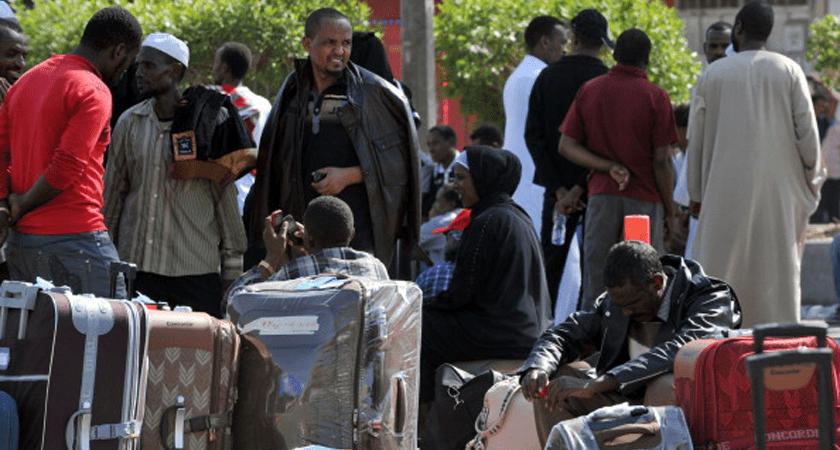 Ethiopians Stranded in Saudi Arabia Call for Help