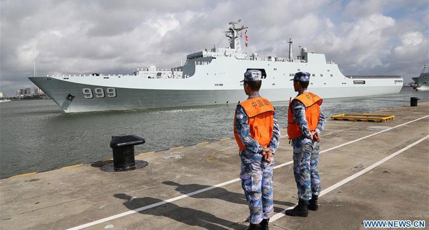 China Sets Up Military Base in Djibouti