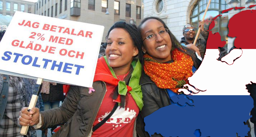 Eritrea Diaspora tax and the Dutch media