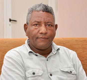 Major Kibreab Abraham, Managing Director of ECLC