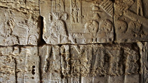 The carvings at the pyramids in Sudan give an insight into the life in the Kingdom of Kush