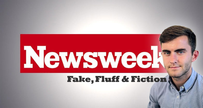 Newsweek: Fake, Fluff and Fiction
