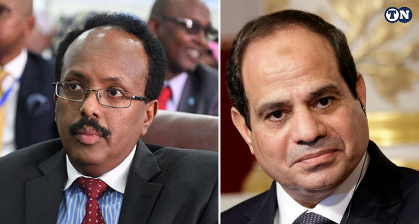 Somalia President in Egypt for First Official Visit