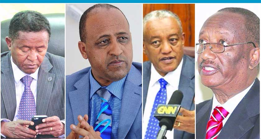 Bank accounts of the 56 corruption suspects in Ethiopia shows a balance of only few dollars
