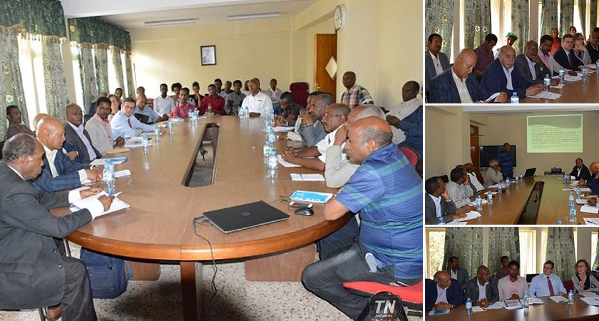 EU Participated at the Baseline Survey Meeting of a Food Security Project in Eritrea