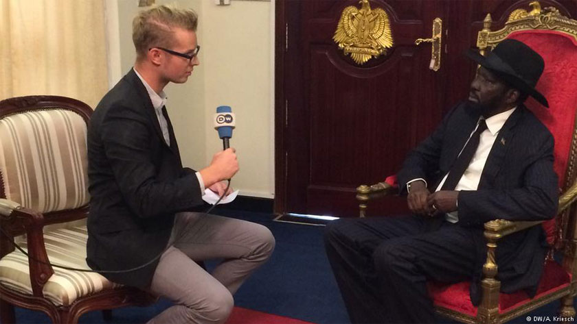 South Sudan refugee crisis aren't a big deal ... President Kiir