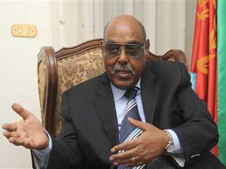 Eritrea ambassador to Egypt, Fasil Gebreselasie