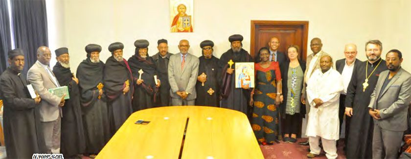 World Council of Churches Delegates in Eritrea