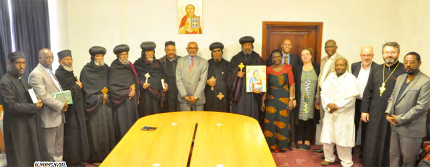The World Council of Churches visiting Eritrea