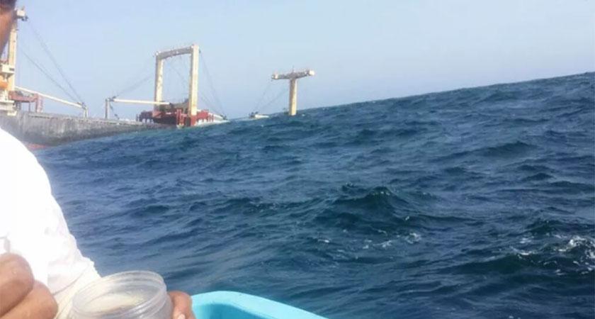 The Tanzanian flag cargo ship were heading to Eritrea from United Arab Emirates