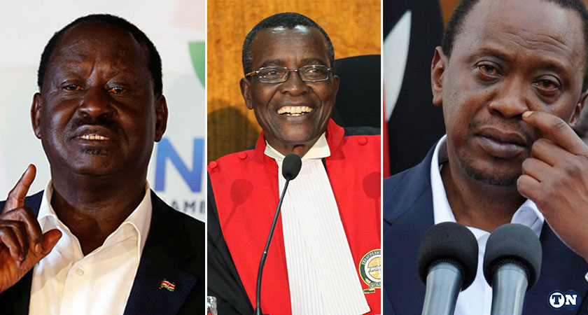 Kenyan Supreme Court scrap election results